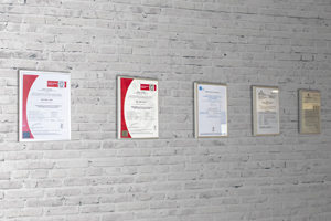 GRECO STROM certifications